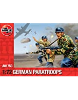 Airfix A01753 WWII German Paratroops Model Building Kit, 1:72 Scale