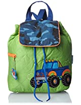 Stephen Joseph Kid s Quilted Backpack, Truck