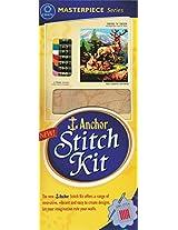 CraftAdda Anchor Stitch Kit - Deer 'n' Deer