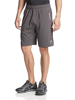 HEAD Men's Break Point Shorts (Asphalt)