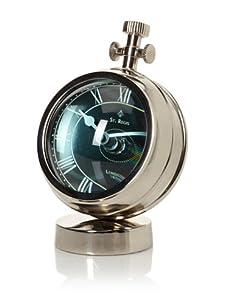 Diamond Reef Yachtsman's Mantel Clock with Fish Eye Glass