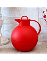 Kugel Red Frosted Jug from Alfi