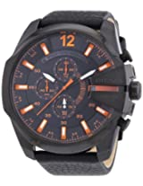 Diesel luminescent hands Chronograph Black Dial Men's Watch - DZ4291