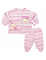 Carters Top And Bottom Set With Bodysuit - Pink (3 - 9 Months)