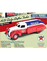 """1939 Dodge Airflow Tanker """"Texaco"""" (2015) Series #1 1/38 Limited Edition of 1060pc by Autoworld CP7158"""