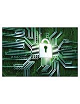 Decor Kafe Cyber Lock Vinyl Poster