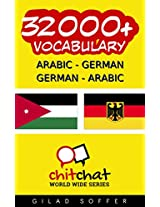 32000+ Arabic - German German - Arabic Vocabulary (ChitChat WorldWide) (Afrikaans Edition)