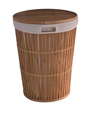 Compactor Cesto Pongotodo Bamboo Basket con Tapa Natural