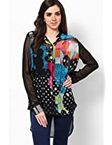 Disney Monopop Collection Georgette Multi Printed Tunic
