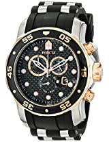 Invicta Men's 17877 Pro Diver Analog Display Swiss Quartz Black Watch