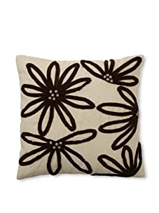 Design Accents Yarn Floral (Natural/Chocolate)