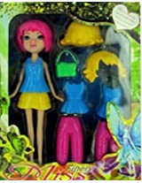 Cute Fashion Doll Miss Finery With Interchangeable Clothing And Accessories