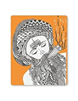 PosterGuy Holy Smoke | Line Art Graphic Illustration Mouse Pad