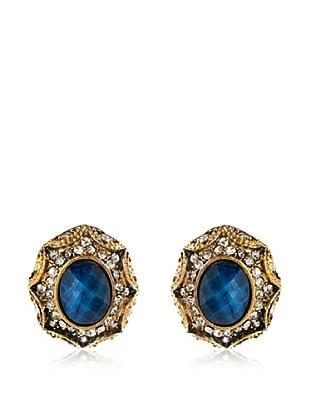 Amrita Singh Pendientes Dorcas Azul