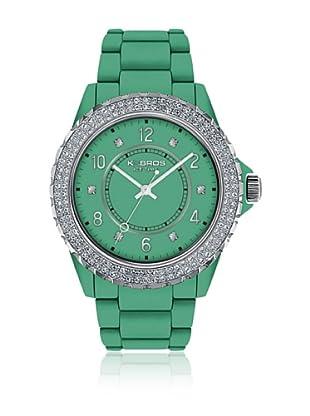 K&Bros  Reloj 9558 (Verde)