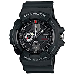 G-Shock Chronograph Black Dial Men's Watch - GAC-100-1ADR (G403)