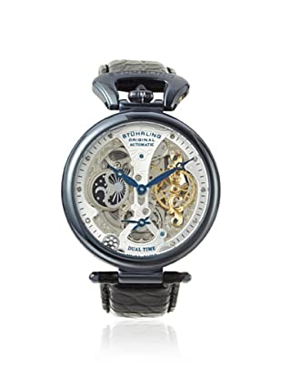 Stuhrling Men's 127A2.33X52 Special Reserve Black/Silver Stainless Steel Watch