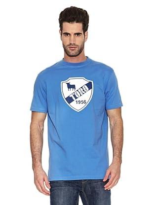 Toro Camiseta Escudo (Azul)