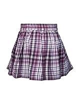 Checks Purple Skirts