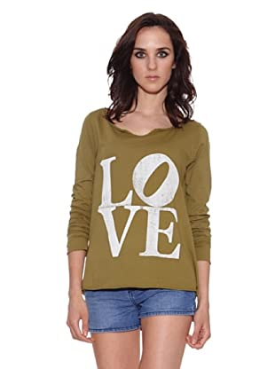 The Hip Tee Camiseta Love (Verde Forestal)