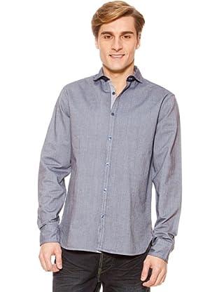 SideCar Hemd Oxford (Grau)