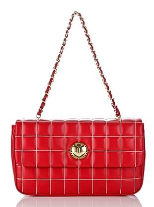 Love Moschino Handtasche Vit. Nappa (Rot)