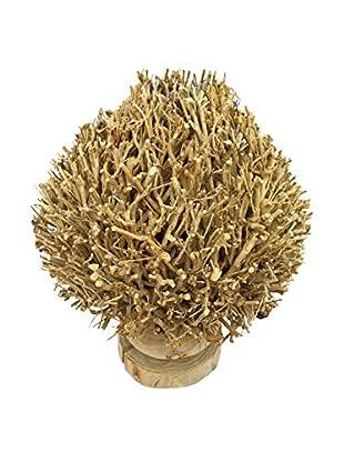 Table Lamp, Brown