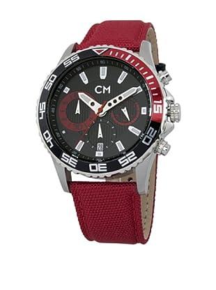 Carlo Monti Herren Chronograph XL Avellino Chronograph Quarz Textil CM509 124B