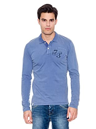 Pepe Jeans London Polo Spruce Ls (Azul)