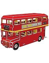 """CubicFun 3D Puzzle S-Series """"Double Decker Bus"""""""