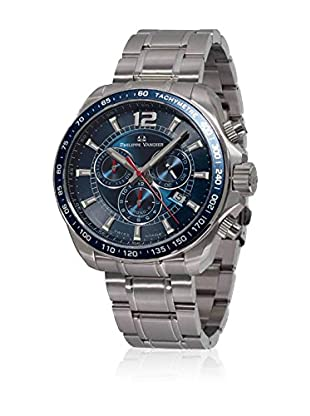 PHILIPPE VANDIER Uhr mit schweizer Quarzuhrwerk 77002  42 mm