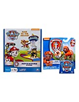 Paw Patrol Adventure Game With Action Pack Pup & Badge Zuma