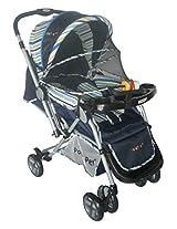 Pollyspet Baby Stroller (Blue)