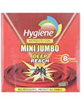Hygiene 8 Hrs Deep Reach mini Jumbo Red Mosquito Coil (Pack of 10)