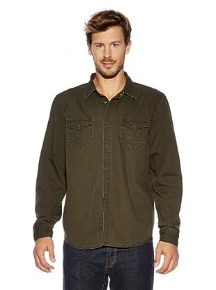 Cross Jeans Hemd (Khaki)