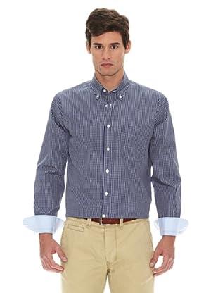 Turrau Camisa Cuadro Mini (Azul / Amarillo)