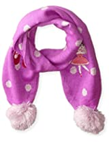 Kidorable Little Girls' Ballerina Scarf, Purple, One Size