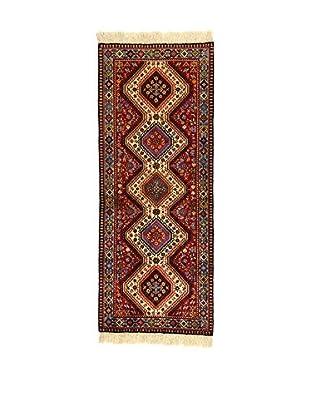 L'Eden del Tappeto Teppich Yalameh mehrfarbig 204t x t81 cm