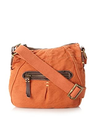 49 Square Miles Women's Canvas Mini Cross-Body, Burnt Orange, One Size