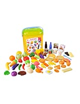 PlayGo Food Case Playset (60-Piece)