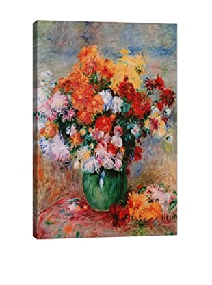 Pierre-Auguste Renoir's Bouquet of Chrysanthemums (circa 1884) Giclée Canvas Print