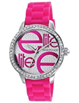 Elite Analog Multi-Color Dial Women's Watch - E52459G/212