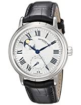 Raymond Weil Men's 2839-STC-00659 Maestro Stainless Steel Automatic Watch with Leather Band
