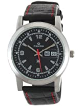 Maxima Attivo Analog Black Dial Men's Watch - 21007LMGI