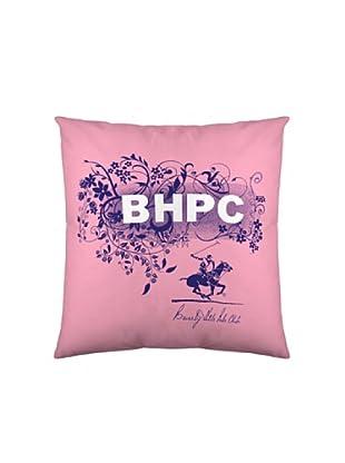 Beverly Hills Polo Club Funda de Cojín Virginia & Dakota (Morado / Rosa)