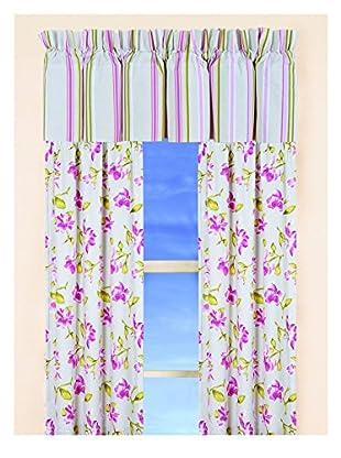 Lilian Drapery Panel, Pink Multi
