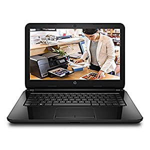 HP 14-r053TU  Laptop 14 Inches Screen (Sparkling Black) With Laptop Bag