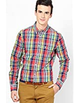 Multi Checks Slim Fit Casual Shirt French Connection