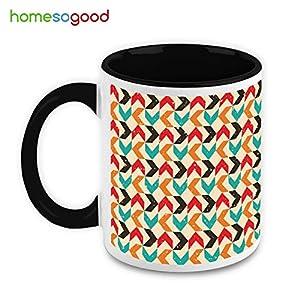 HomeSoGood Multicolor Arrows Coffee Mug