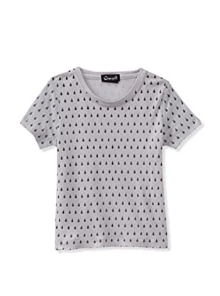A for Apple Rat T-Shirt with Lady Bug Print (Grey)